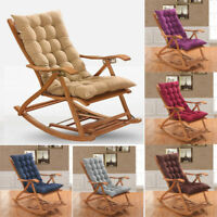 Soft Seat Cushion Pad Garden Sun Lounger Replacement Recliner Chair Cover 48x120