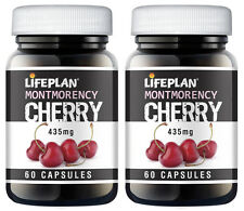 LIFEPLAN Montmorency Cereza 435mg 2 X 60 comprimidos-Twin Pack