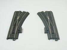 Märklin H0 24611 / 24612, ein Weichenpaar C Gleis, neu