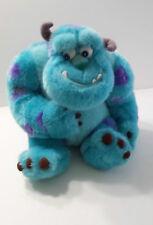 Monster Disney Plush Stuffed Animal Blue and Purple Disney World Childs Soft Toy