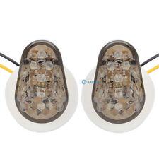 Smoke Flush Mount LED Turn Light Signial Indicator For Yamaha YZF R1 R6 03-12 ET