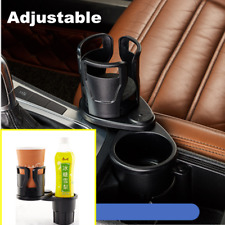 1x Black Car Holder Cleanse Organizer Seat Drink Cup Travel Coffee Bottle Stand