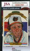 Jim Palmer 1983 Donruss Diamond Kings Jsa Coa Hand Signed Authentic Autograph