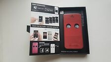 NEW Eyes Case for Iphone 5/5s TUCANO color Red