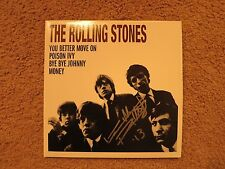 KEITH RICHARDS SIGNED ROLLING STONES RECORD STORE DAY LP PROOF! RARE AUTOGRAPH!