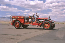 652084 1917 American Lafrance Fire Truck A4 Photo Print