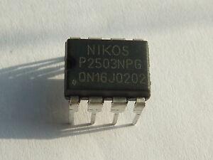 P2503NPG NIKO DIP-8 for PSU AIP-0187A LG 19LH2000 Repair -BRAND NEW