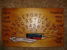 hand made wooden ouija spirit talking board Voodoo