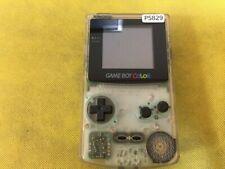 P5829 Nintendo Gameboy Color console Clear Japan GBC