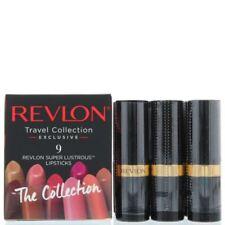 Revlon Super Lustrous Lipstick 9pc Cube Travel Collection