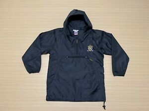 Richmond Tigers Light Rain Jacket Boys Kids Youth ~ Size 12 ~ AFL Team w/ Hoody