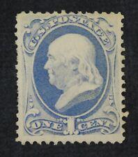 CKStamps: US Stamps Collection Scott#156 1c Franklin Unused Regum