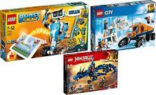 LEGO BOOST 17101 + City Arktis 60194 Erkundungstruck + Ninjago 70652 Blitzdrache