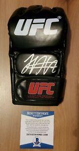 Khabib Nurmagomedov Signed Autographed UFC Glove COA BAS Beckett #z10389