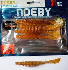 Noeby pêche leurre souple odorant Worm 10cm 3,5g couleur 209