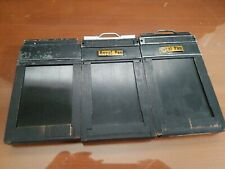Lot of 2 Graflex 1 baco graphic Type 5 2 1/4 x 3 1/4 Cut Film Holders