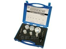 Silverline Professional 9 Piece Plumber Bi-Metal HSS Holesaw Kit Free Post