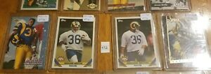 JEROME BETTIS 1993 Lot of (12) Different Rookies. Steelers Great.
