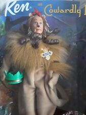 BARBIE - Ken As Wizard Of Oz The Cowardly Lion COLLECTION MATTEL