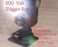Yongnuo RF 602 Blitz Triggerspannung 500 V zB Vivitar 283 Booster Upgrade Repair