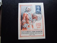 FRANCE - carte 1er jour 14/3/1953 (journee du timbre) (cy92) french