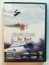 2SCS 6: Fo' Reel (DVD, 2003) Hessinger/Baugh Snowmobiling Snowmachine Real Film!