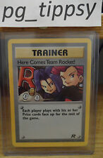 Here Comes Team Rocket 15/82 Team Rocket Set Near Mint Condition - Pokemon Go