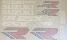 Suzuki GSXR750 GSXR750L restauración Decal Set 1988-89