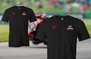 Scott Redding 45 - WSB World Super Bikes Black Tee shirt