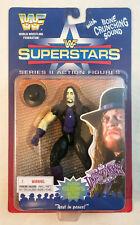 "UNDERTAKER ACTION FIGURE - WWF SUPERSTARS ""GLOWS IN DARK"" JAKKS - MOC/MIP 1996"
