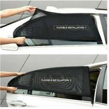 2x Car Rear Side Window Mesh Sun Visor Shade Cover Shield UV Protector Parts