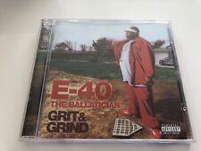 CD: E-40 - Grit & Grind (2002 Zomba Records) Bay Area Rap G-Funk