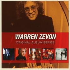WARREN ZEVON - 5CD ORIGINAL ALBUM SERIES (NEW/SEALED) Excitable Boy The Envoy