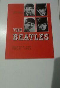 THE BEATLES -Official Reproduction Souvenir 1964 AUSTRALIAN TOUR PROGRAM