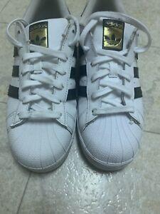 adidas Originals Men's Superstar Sneaker 19US - White/Black/White