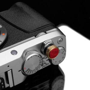 Gariz Soft Release Button XA-SBLR for Fujifilm Fuji Leica Nikon Pentax Red