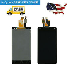 Touch Screen Digitizer LCD Display for LG Optimus G E971 E973 E975 F180 LS970 QC