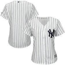 Women's New York Yankees Majestic White Home Cool Base Jersey-SIZE- LARGE