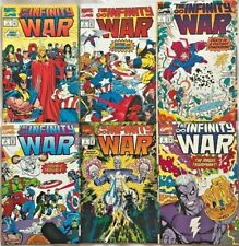 INFINITY WAR#1-6 NM 1993 THANOS MARVEL COMICS