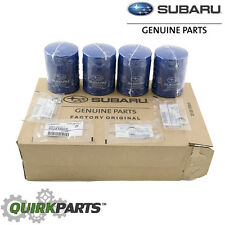 NEW 2011-2018 Subaru Pack 4 Engine Oil Filter and Gasket Impreza OEM 15208AA15A