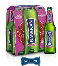 Barbican Pomegranate Flavor Non Alcoholic Malt Beverage 6 Pack 330ML Bottles