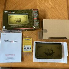Nintendo 3ds xl majora's mask edition Box Booklet Scratch On Front