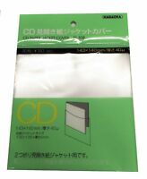 NAGAOKA Outer Plastic Sleeve Gatefold MINI-LP CD TS-508 20 sheets