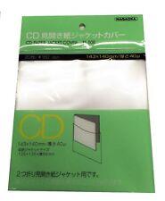 NAGAOKA Outer Plastic Sleeve Gatefold MINI-LP CD TS-508 20 sheets