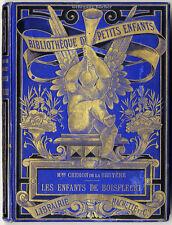 De la Bruyere: Les enfants de Boisfleuri. Prachtband, Kinderbuch von 1888