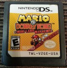Mario vs. Donkey Kong: Mini-Land Mayhem! (Nintendo DS) CART ONLY TESTED 3DS 2DS