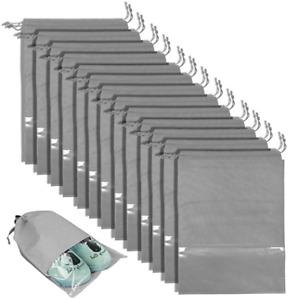 Travel Shoe Bag Waterproof Non Woven Storage Bag Shoe Pouch Packing Organizer