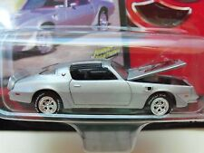 JOHNNY LIGHTNING - 1978 PONTIAC FIREBIRD TRANS AM (SILVER) - DIECAST
