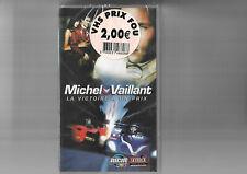 VHS CASSETTE  MICHEL VAILLANT  la victoire a un prix    NEUF