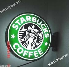 Double Face 2 Sides Starbucks スターバックス Coffee Tea Cafe LIGHT BOX SIGN Fast Ship